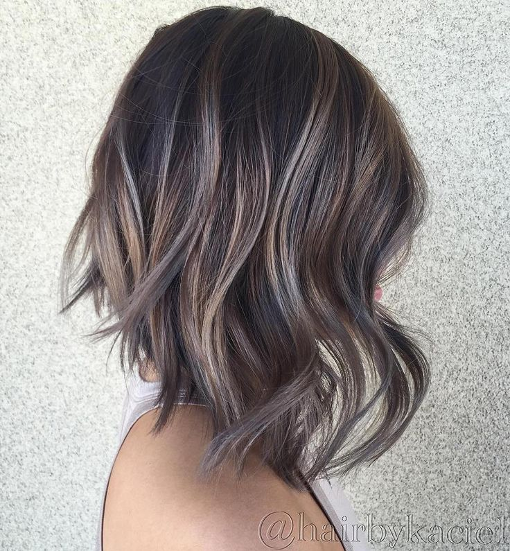 Ash+Brown+Balayage+Bob More