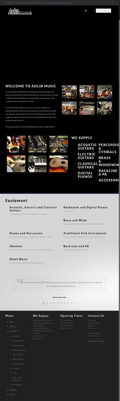 AdLib Music Musical Instruments & Sheet Music 8 Jamaica Street   Greenock Renfrewshire PA15 1XU | To get more infomration about AdLib Music, Location Map, Phone numbers, Email, Website please visit http://www.HaiUK.co.uk