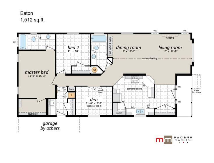 Modular Mansion Floor Plans: 1000+ Ideas About Modular Floor Plans On Pinterest