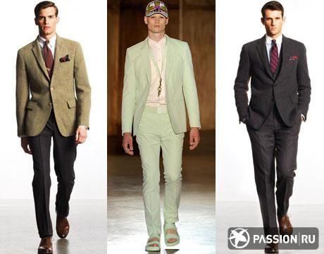 С чем одеть укороченный приталенный пиджак серого цвета