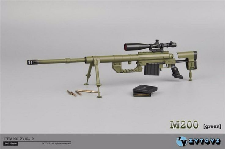 2017 ZYTOYS ZY15-12 CheyTac Intervention M200 Sniper Rifle 1/6 FIGURE  #Affiliate