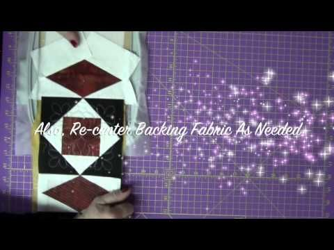 how to join quilt as you go blocks with sashing