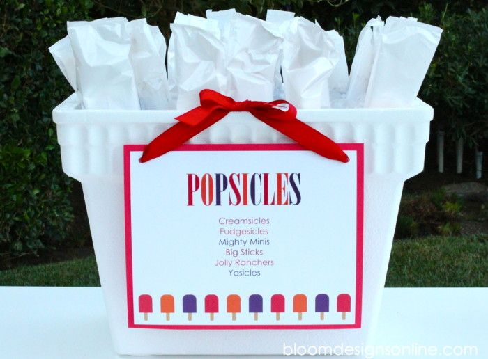 46 best Popsicle Party images on Pinterest Popsicle party