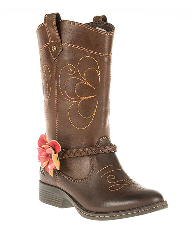 Look at this b.o.c Chocolate Two-Tone Geneva II Boot on #zulily today!