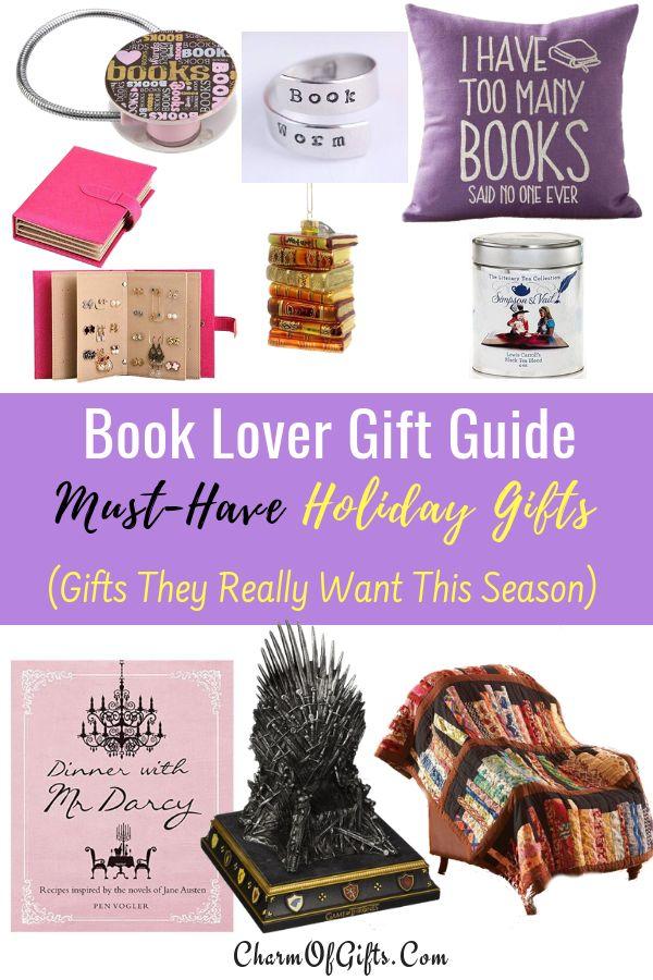 Meilleurs cadeaux de Noël pour les amateurs de livres qu'ils souhaitent réellement (Guide-cadeaux)  – Book Lovers