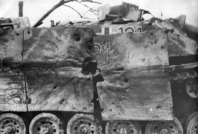 Pictures Of Destroyed Wwii Tanks Armchair General And