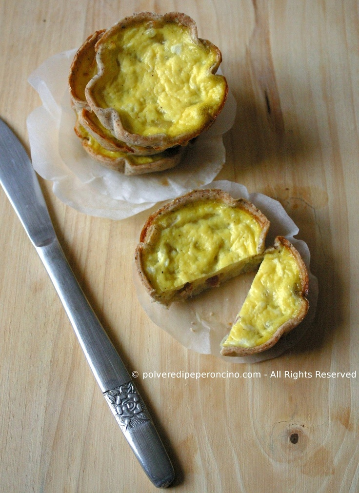 MINI QUICHE ALLE CIPOLLE
