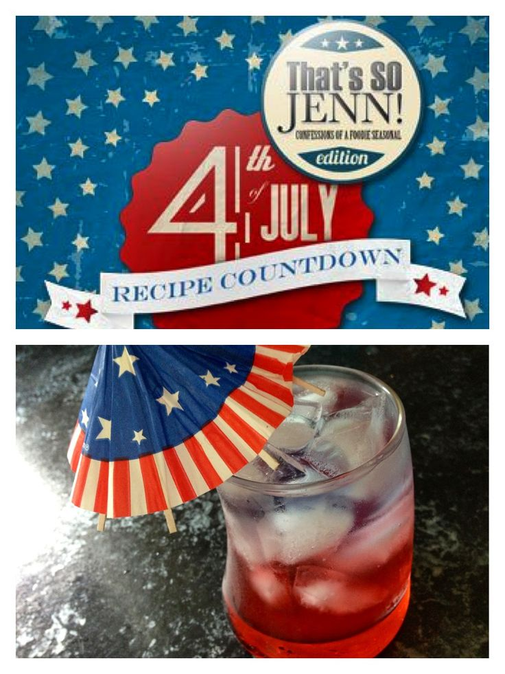 Red, white and blue party punch. So many great entertaining ideas for the 4th! www.thatssojenn.com