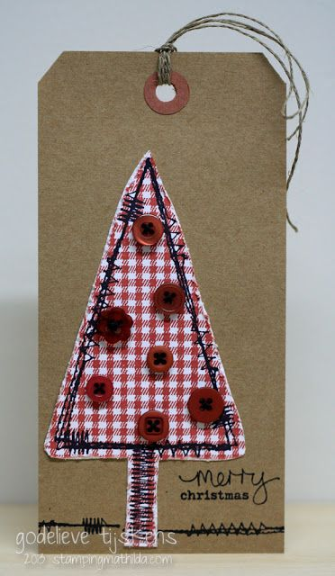Stitched Christmas - Darkroom Door