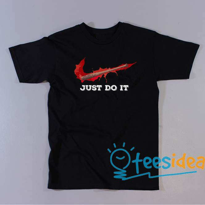 Negan just do it Unisex Adult T Shirt #Neganjustdoit #justdoit #Negan