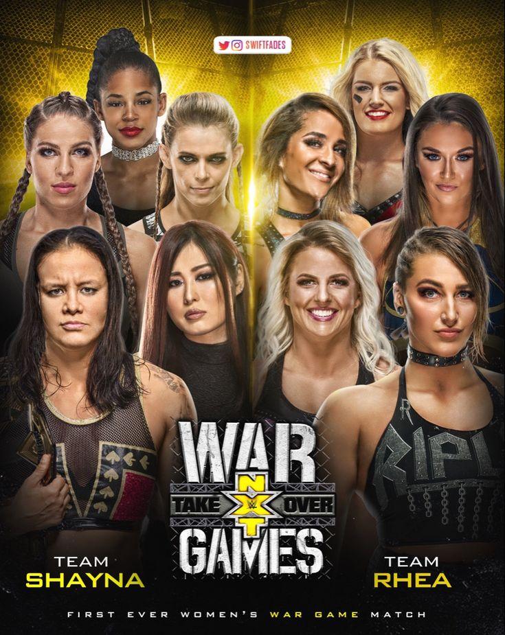 WWE NXT War Games 2019 Shayna Baszler, IO Shiral Jessamyn