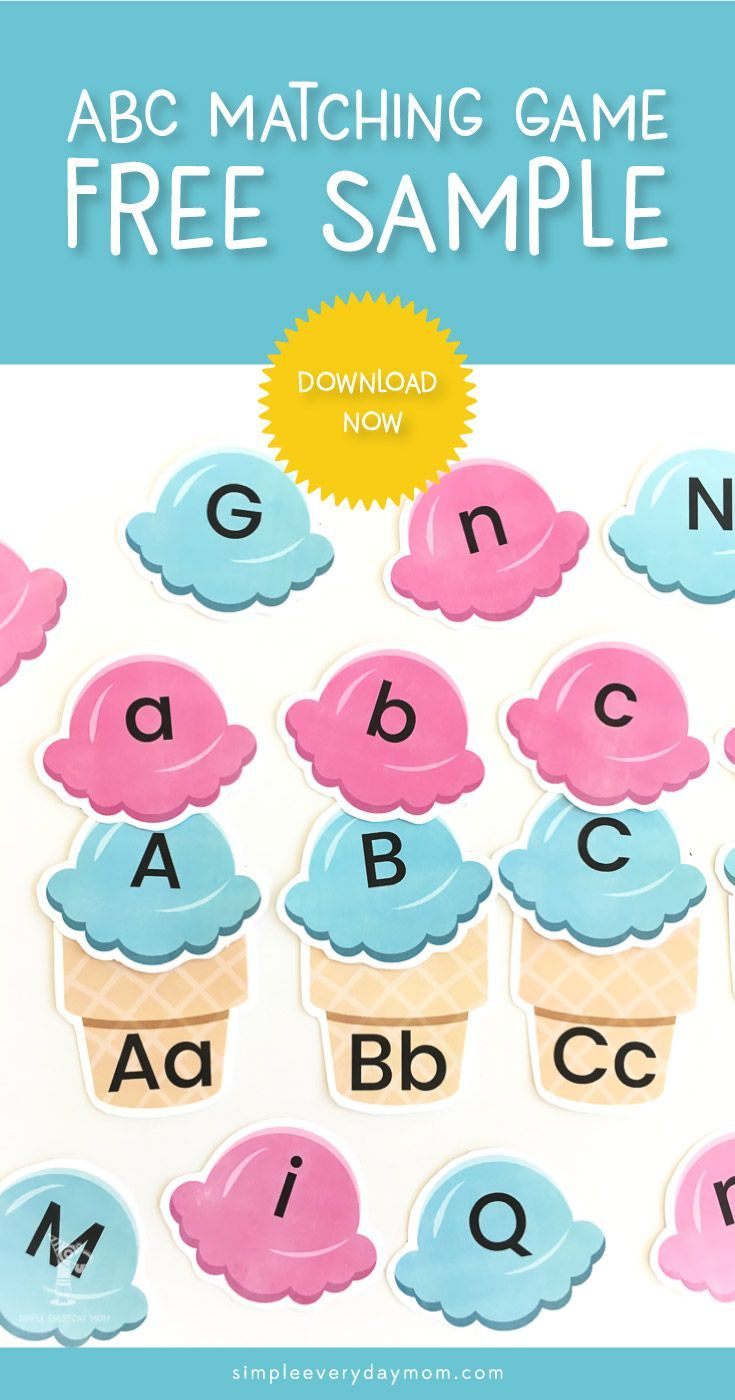 abc game for toddler | teach kids alphabet | printable learning game