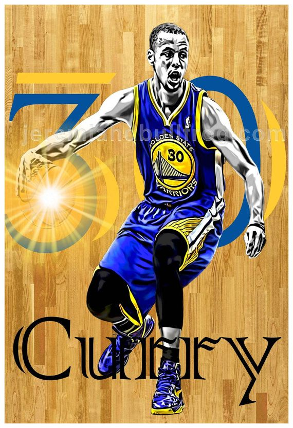 Golden State Warriors Stephen Curry NBA by JeremiahDbullfroG