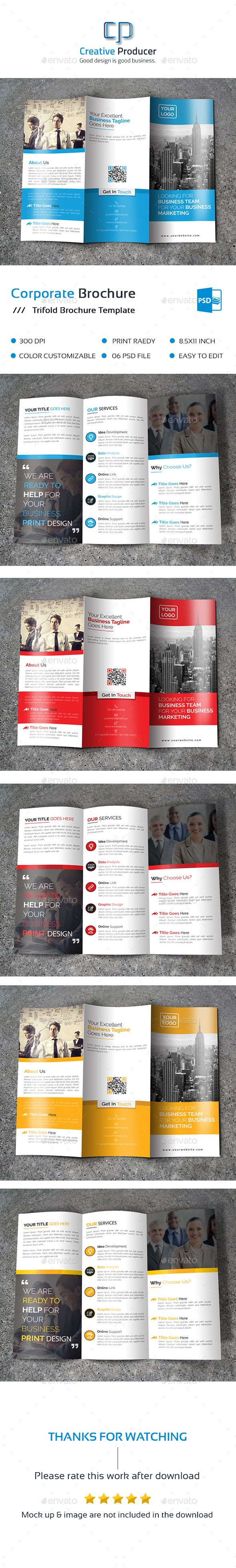 Corporate Tri Fold Brochure Template PSD. Download here: http://graphicriver.net/item/corporate-tri-fold-brochure-/15871444?ref=ksioks