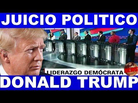 Ultimo minuto EEUU, DEMÓCRATAS HABLAN DE JUICIO POLITICO A TRUMP 23/02/2017 - YouTube