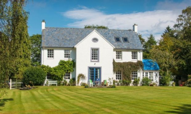 World of Rosamunde Pilcher--House built for the author