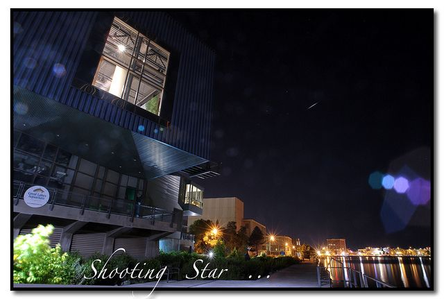 Shooting Star Photo Taken Near Decc And The