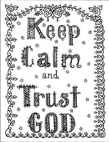49 best coloring pages bible images on pinterest for Trust god coloring page