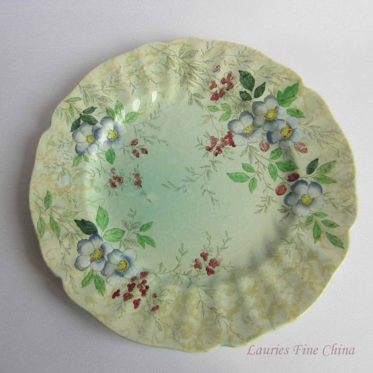 Free Shipping Royal Doulton FANTASY D6168  Bone China Dinner Plate by LauriesFineChina on Etsy