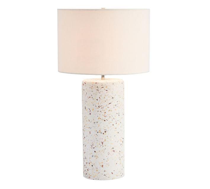 Capri Terrazzo Table Lamp Table Lamp Lamp Glass Table Lamp