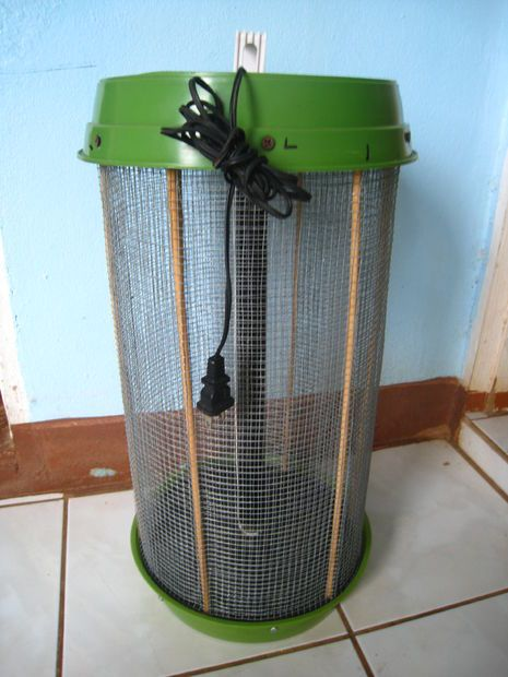 How to build a portable bug zapper