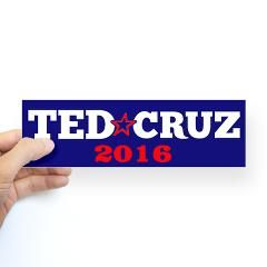 Ted Cruz 2016 Sticker THIS MAN IS FOR THE PEOPLE!  VOTE FOR TED CRUZ !  I WILL VOTE FOR THE FIRST TIME IN YEARS ... I WANT TED CRUZ!!!