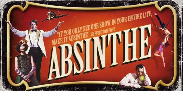 Absinthe Caesars Palace Las Vegas Shows. Might be the show to see