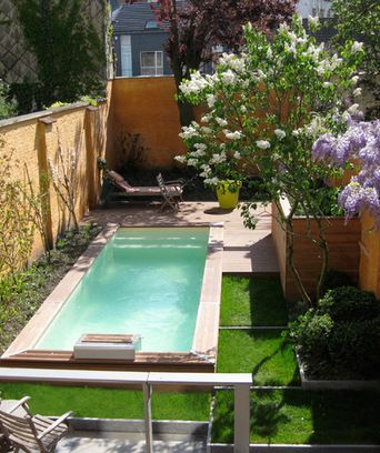 144 best petite piscine images on Pinterest Small pools, Small