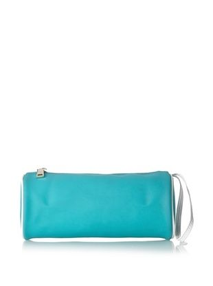59% OFF COURAGE. b Women's Valencia Accessory Pouch, Teal