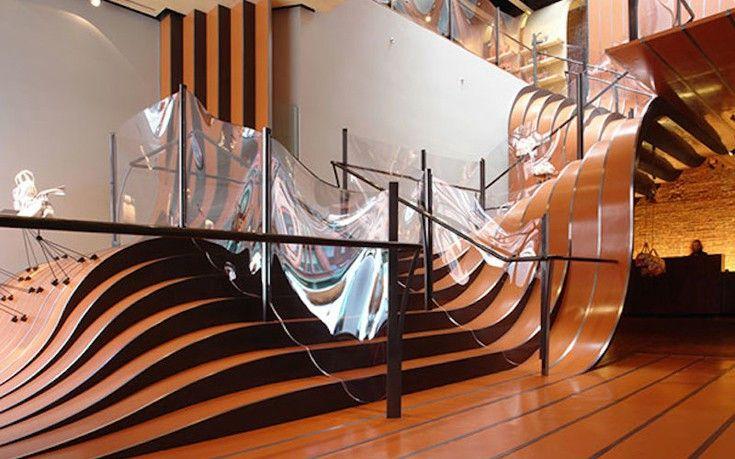 Απίστευτες εσωτερικές σκάλες που σε αφήνουν με το στόμα ανοιχτό www.sta.cr/2sFp7