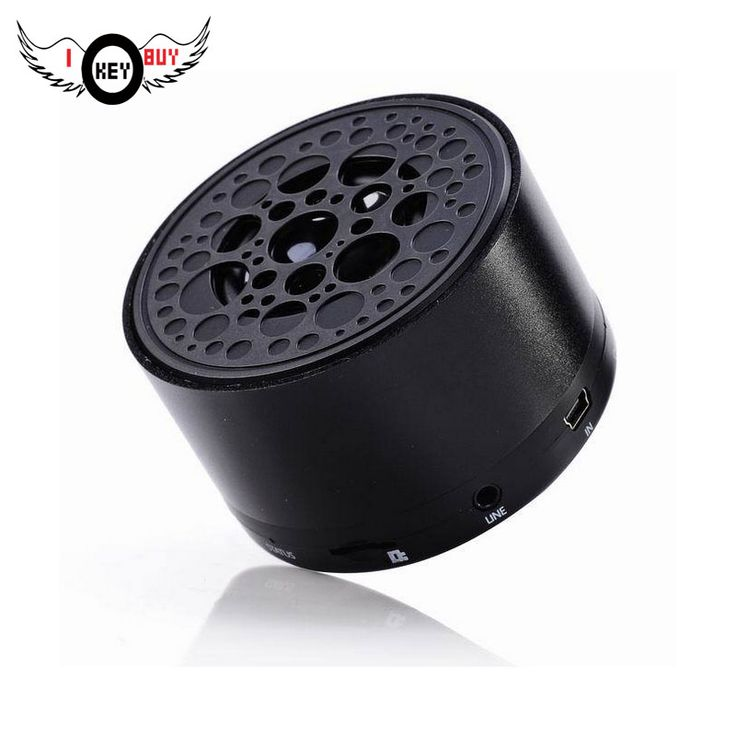 1PC High Quality Wireless Mini Bluetooth Speaker Car Card Portable Metal Small Speakers Cylindrical Aluminum Alloy