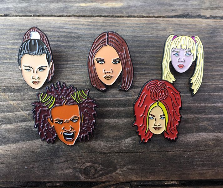 These #spicegirls pins are a must for your squad