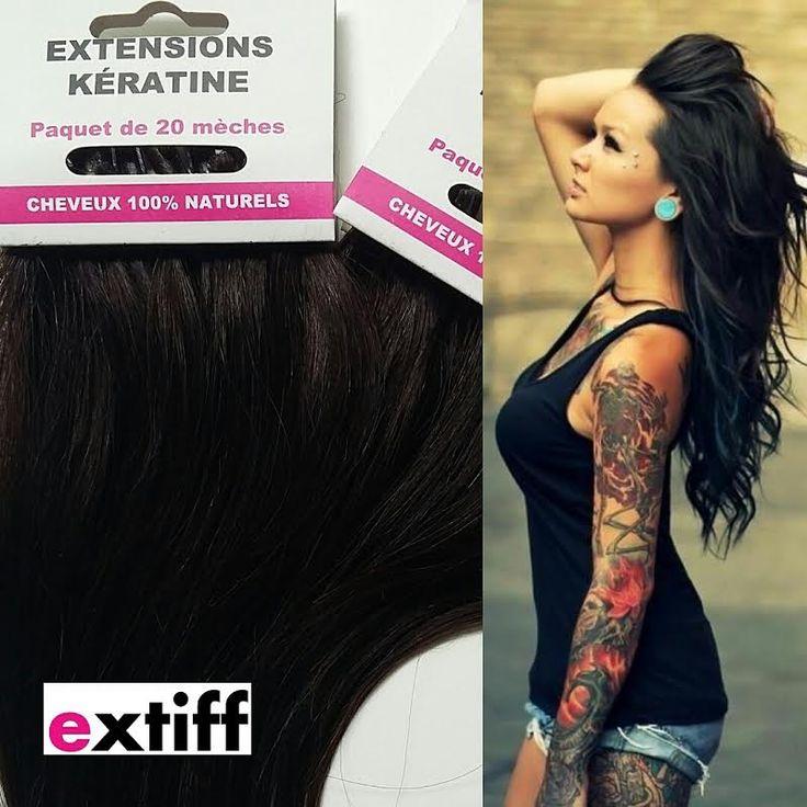 Souvent Les 25 meilleures idées de la catégorie Extension cheveux avant  QD44