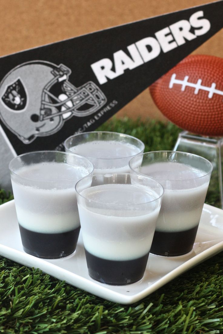Oakland Raiders Jell-O Shots  - Delish.com
