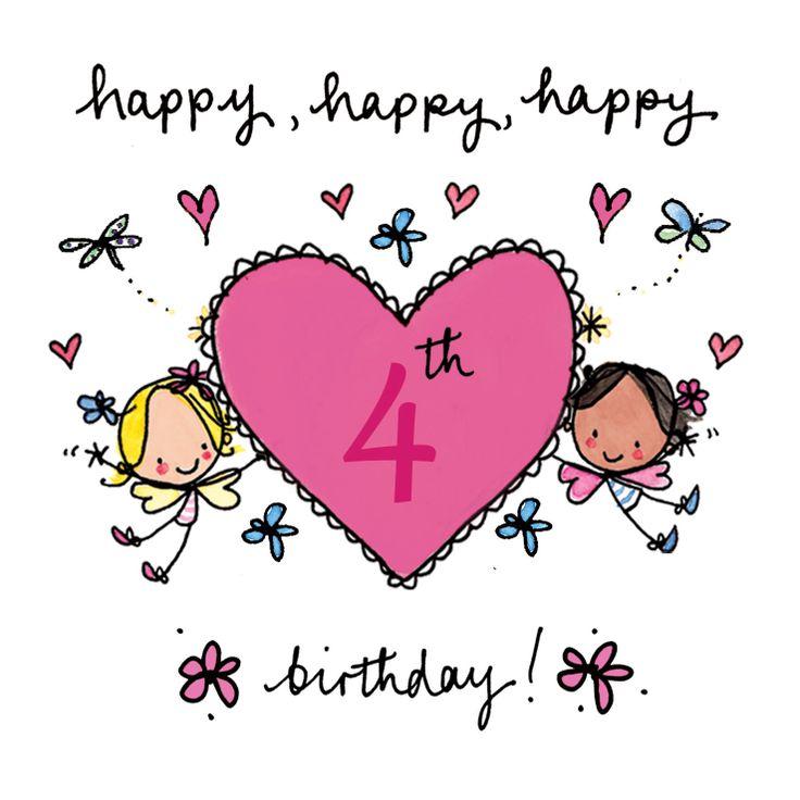 Happy 4th Birthday!