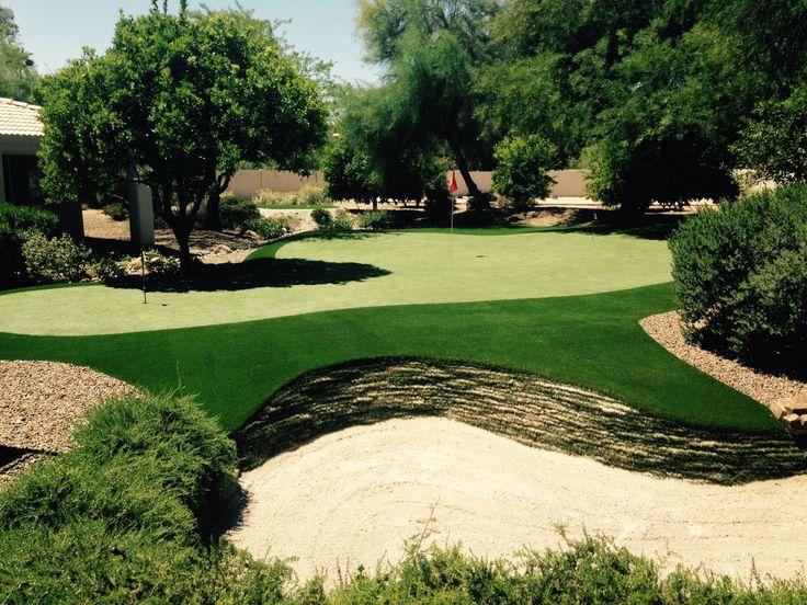 Peter Kostis Artificial Backyard Golf Green