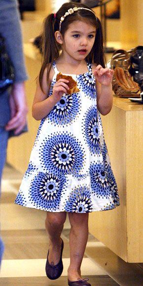Suri Cruise's Cutest Outfits - A Gap Sundress from #InStyle