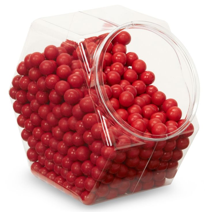 Red Sixlets Candy, 85972