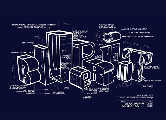 27 best blueprint images on pinterest technical illustration blueprint t shirt design by matthew mckenna at threadless malvernweather Images