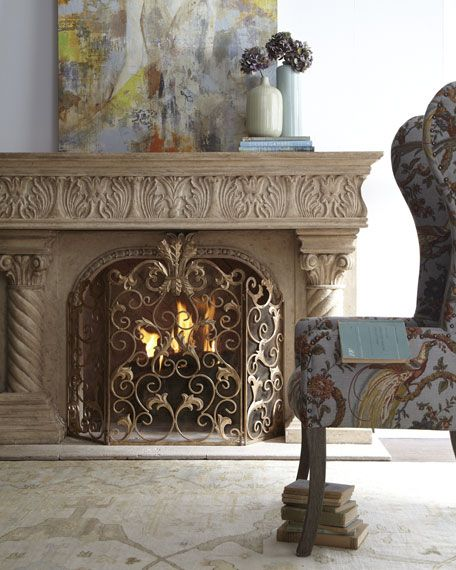 1000 Ideas About Decorative Fireplace On Pinterest