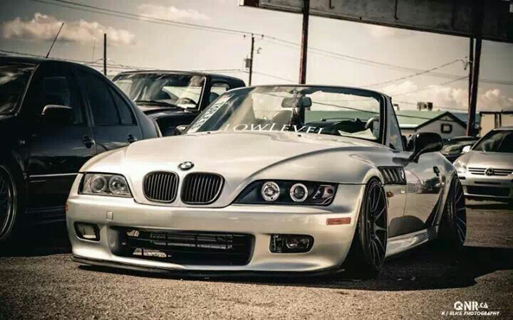 Bmw Z3 Silver Slammed Bmw Roadsters Amp Coupes Pinterest