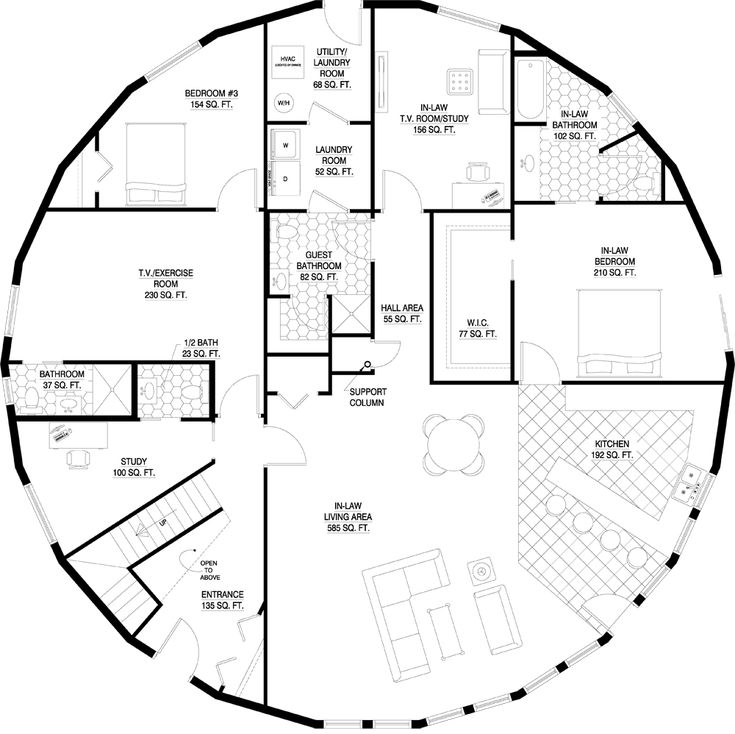 Dome Home Plans: 17 Best Images About MONOLITHIC DOMES On Pinterest