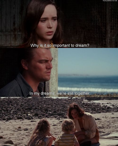 Leonardo DiCaprio ~ Inception.                  One of the greatest actors along with one of the best films!