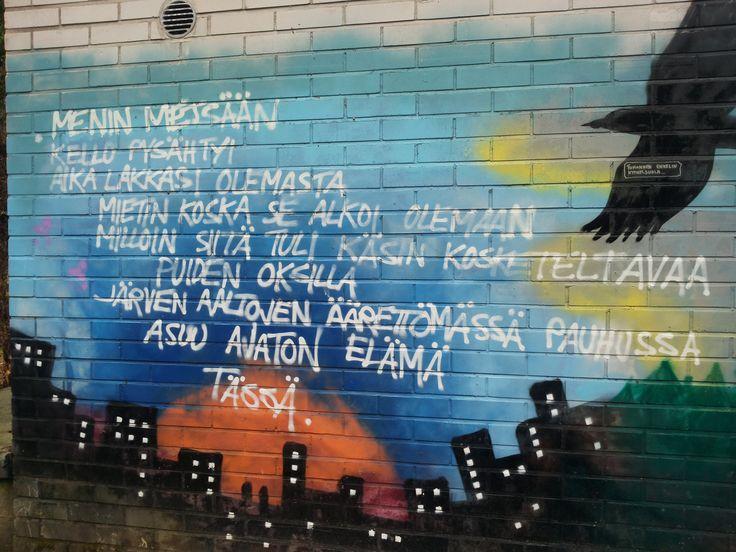 Graffiti Wall in Lohja.