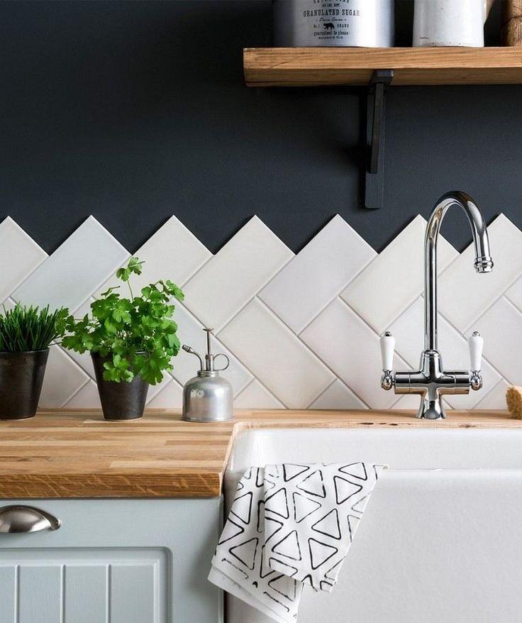 Moderne Holzküche: Ideen für ein warmes Interieur #holzküche #ideen #interieu