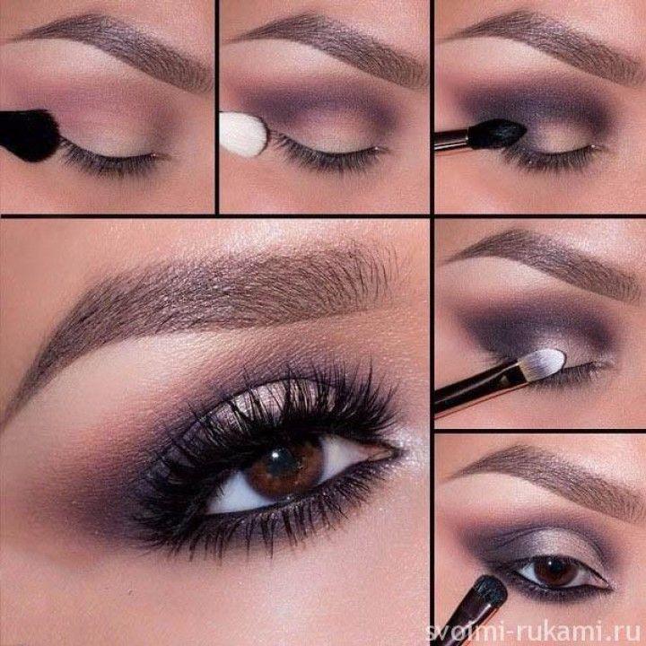 Как сделать смоки айс для карих глаз