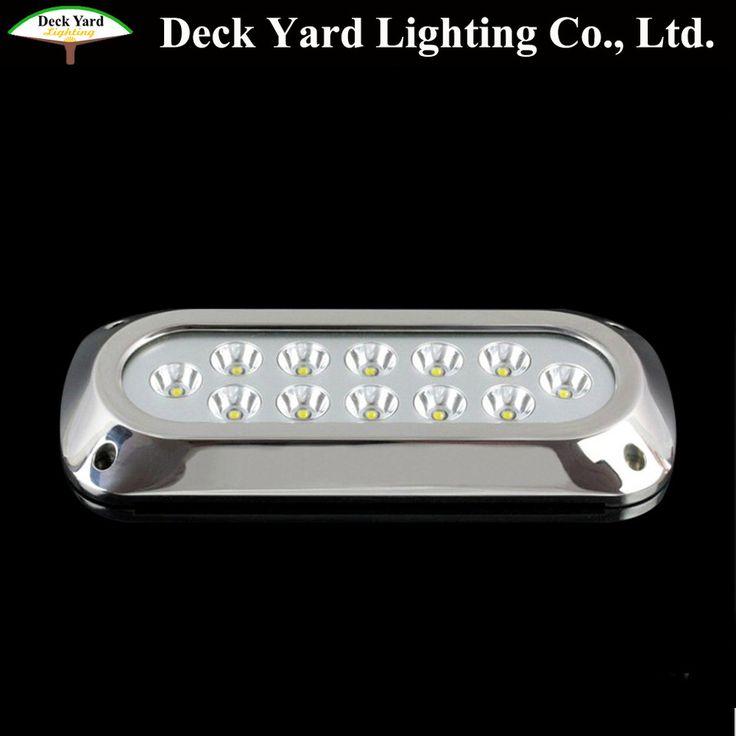 Yatch Luxury Boat Underwater LED Light 36w IP68 12v Marine Navigation led Swimming Pools Underwater LED Light