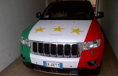 De Ceglie's Jeep