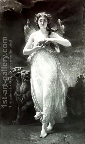 Psyche in the Underworld by Paul Alfred de Curzon