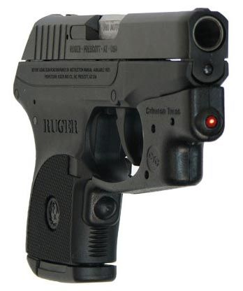 Ruger .380 with Crimson Trace